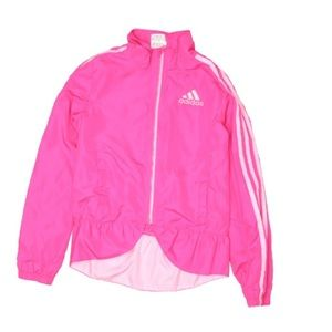 Adidas long sleeves pink track jacket size 6X